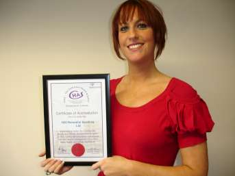 Joe_With_CHAS_Certificate-343x257