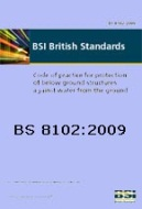BS8102 - Code of Practice for Protection of Structures Below Ground Against Water.  BS 8102 gives recommendations and provides guidance on methods of dealing with and preventing the entry of water from surrounding ground into a structure below ground level. All our basement systems comply with this document.
